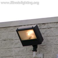 Exterior lights should only be operated when needed.