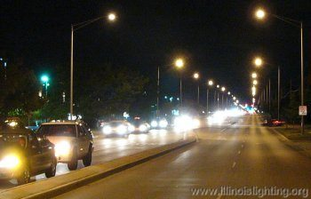 Roadway lighting in Illinois consumes vast amount of electricity.