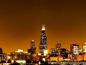 Chicago's sky lacks all but a few stars.