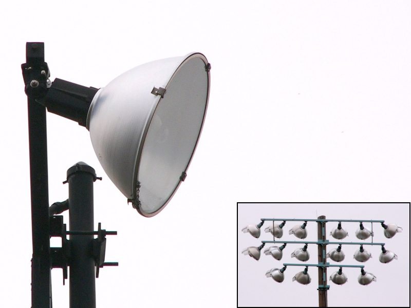 Typical Sports Field Lighting Fixtures